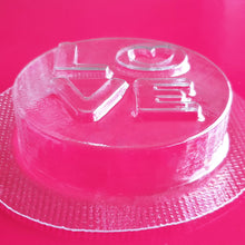 Load image into Gallery viewer, Love Disc Bath Bomb Mould by Truly Personal