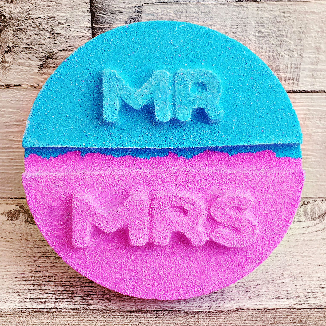 Mr and Mrs Bath Bomb Mould by Truly Personal
