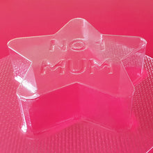 Load image into Gallery viewer, No1 Mum Star Bath Bomb Mould by Truly Personal