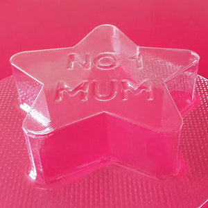 No1 Mum Star Bath Bomb Mould by Truly Personal