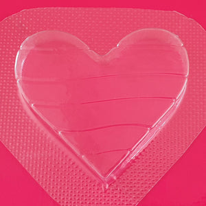Pride Heart Mould | Truly Personal | Bath Bomb, Soap, Resin, Chocolate, Jelly, Wax Melts Mold