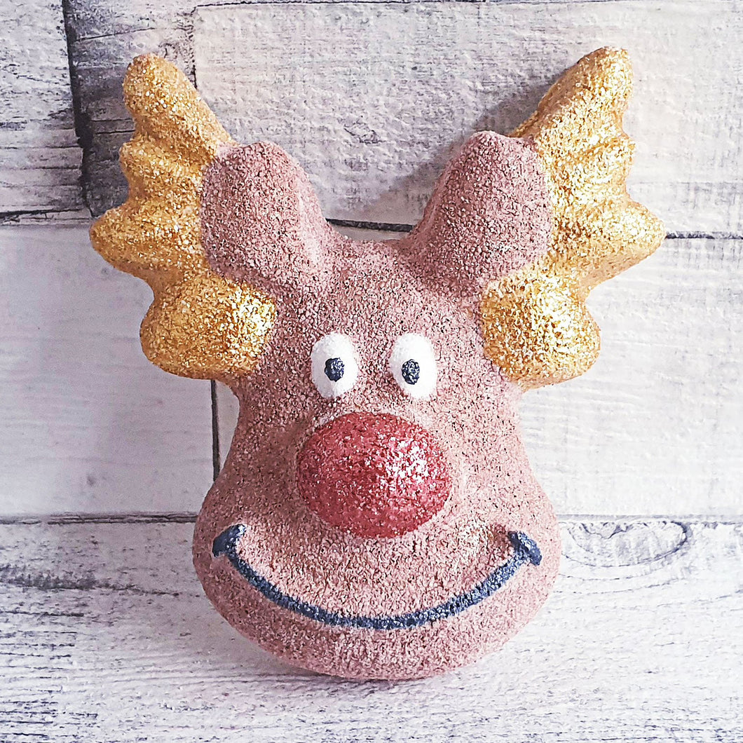 Rudolph Reindeer Bath Bomb Mould by Truly Personal