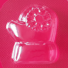 Load image into Gallery viewer, Santa's Mitten Mould | Truly Personal | Bath Bomb, Soap, Resin, Chocolate, Jelly, Wax Melts Mold