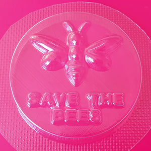 Save The Bees Bath Bomb Mould by Truly Personal