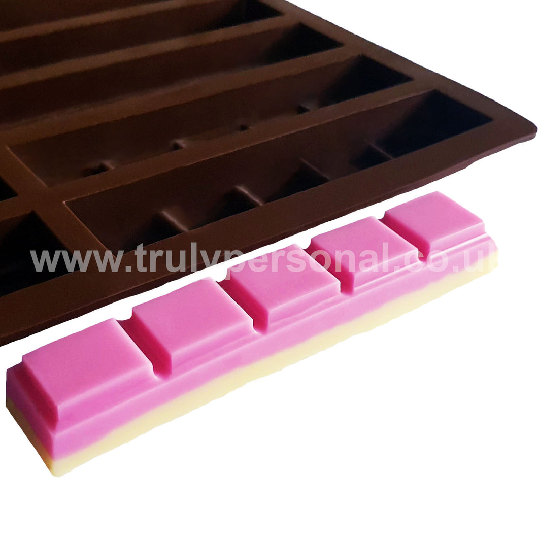 Snap Bar Silicone Mould - 5 Cell x 10 Section | Truly Personal