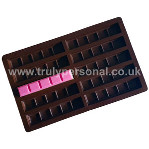 Snap Bar Silicone Mould - 10 Cell x 5 Section