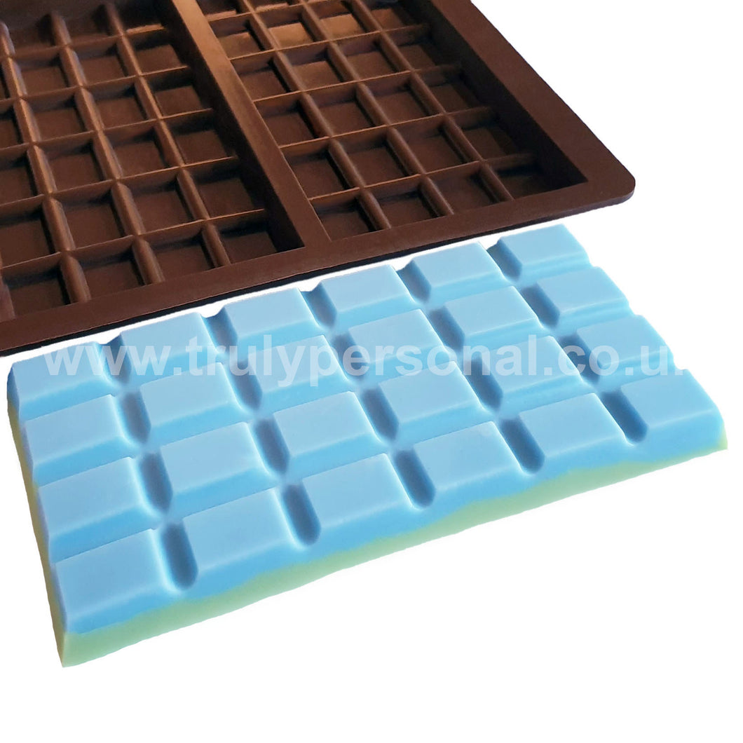 Snap Bar Silicone Mould - 3 Cell x 24 Section | Truly Personal