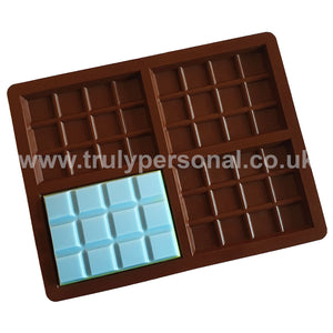 Snap Bar Silicone Mould - 4 Cell x 12 Section | Truly Personal