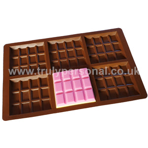 Snap Bar Silicone Mould - 6 Cell x 12 Section | Truly Personal