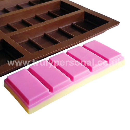 Snap Bar Silicone Mould - 6 Cell x 5 Section | Truly Personal