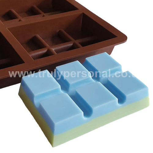 Snap Bar Silicone Mould - 6 Cell x 6 Section | Truly Personal