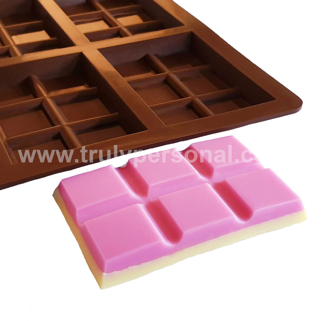 Snap Bar Silicone Mould - 8 Cell x 6 Section | Truly Personal