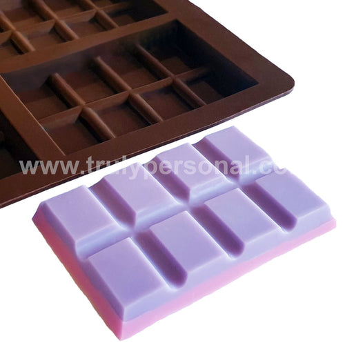 Snap Bar Silicone Mould - 9 Cell x 8 Section | Truly Personal