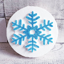 Load image into Gallery viewer, Snowflake Disc Bath Bomb Mould by Truly Personal