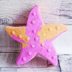 Starfish bath bomb mould by Truly Personal