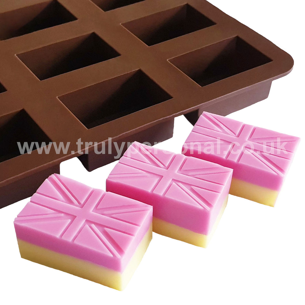Union Jack Silicone Mould | Truly Personal | Wax Melts, Soap