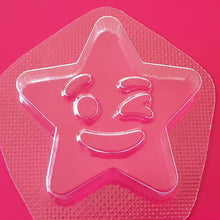 Load image into Gallery viewer, Winking Star Bath Bomb Mould by Truly Personal