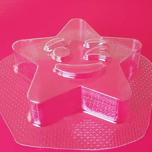 Winking Star Bath Bomb Mould by Truly Personal