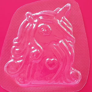 Yuna Unicorn Bath Bomb Mould by Truly Personal