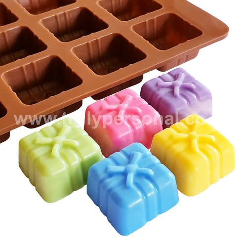 Present Silicone Mould | Truly Personal | Wax Melts, Soap