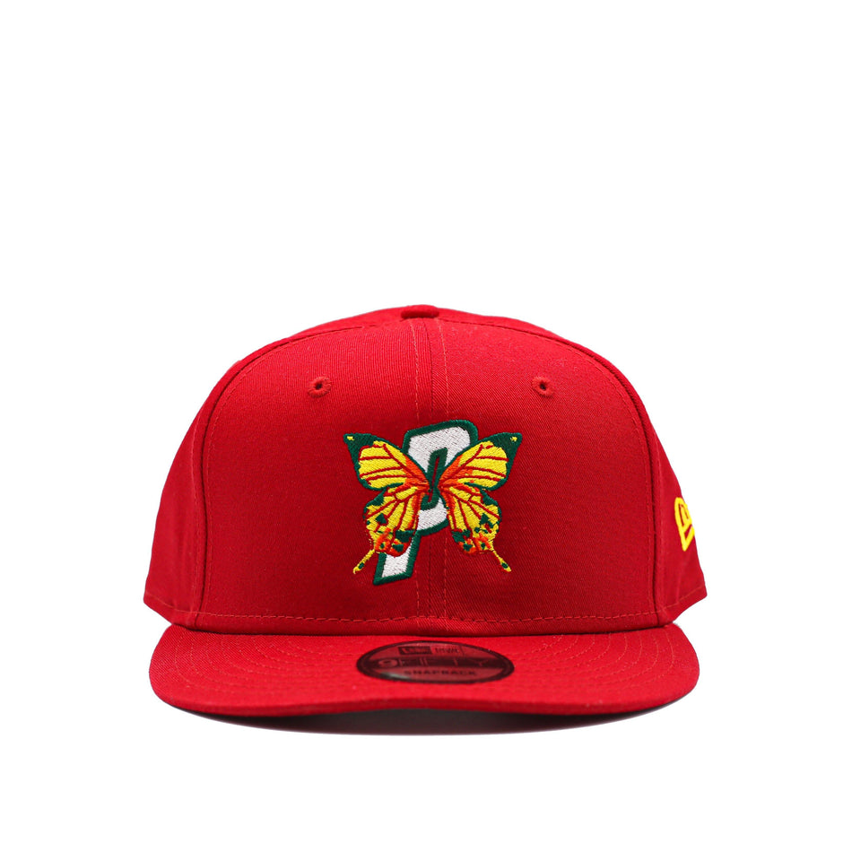 DPAB NEW ERA® SNAPBACK HAT [RED] - PURELUCKX Shop