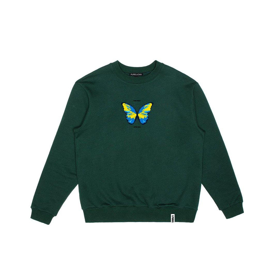 """HOW MUCH OUR CULTURE COST SWEATSHIRT [FOREST GREEN] - PURELUCKX Shop"