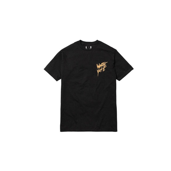 PURELUCKX + UPLIFTED SOCIETY WASTE YUTE TEE [BLACK]