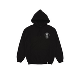 THE WOLF VS THE HARE HOODIE [BLACK] - PURELUCKX Shop