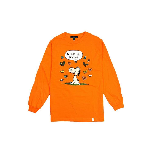 BUTTERFLIES LIKE ME LONG SLEEVE [ORANGE]