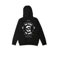 THE WOLF VS THE HARE HOODIE [BLACK]