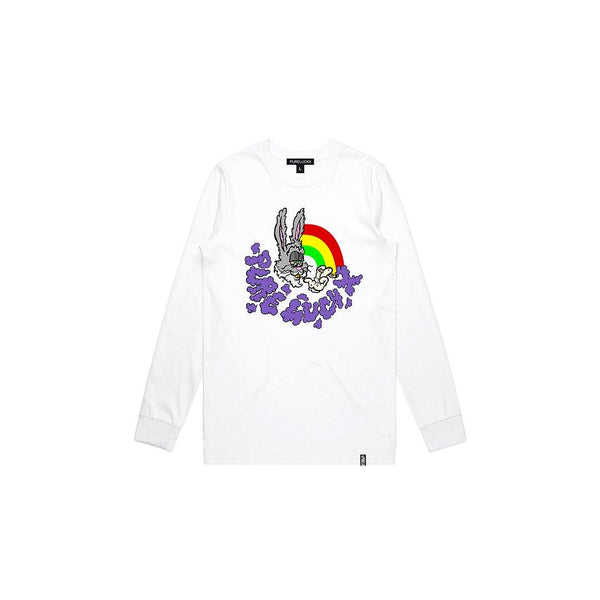 PUFFERS LONG SLEEVE [WHITE]