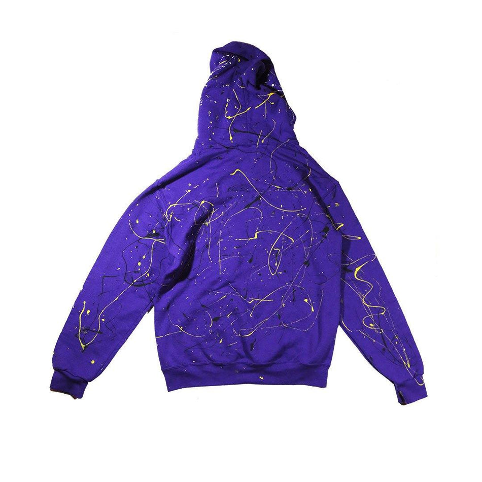 ABSTRACT HOODIE [PURPLE] - PURELUCKX Shop