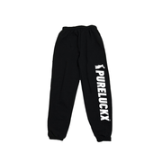 PURELUCKX SIGNATURE SWEATPANTS [BLACK] - PURELUCKX Shop