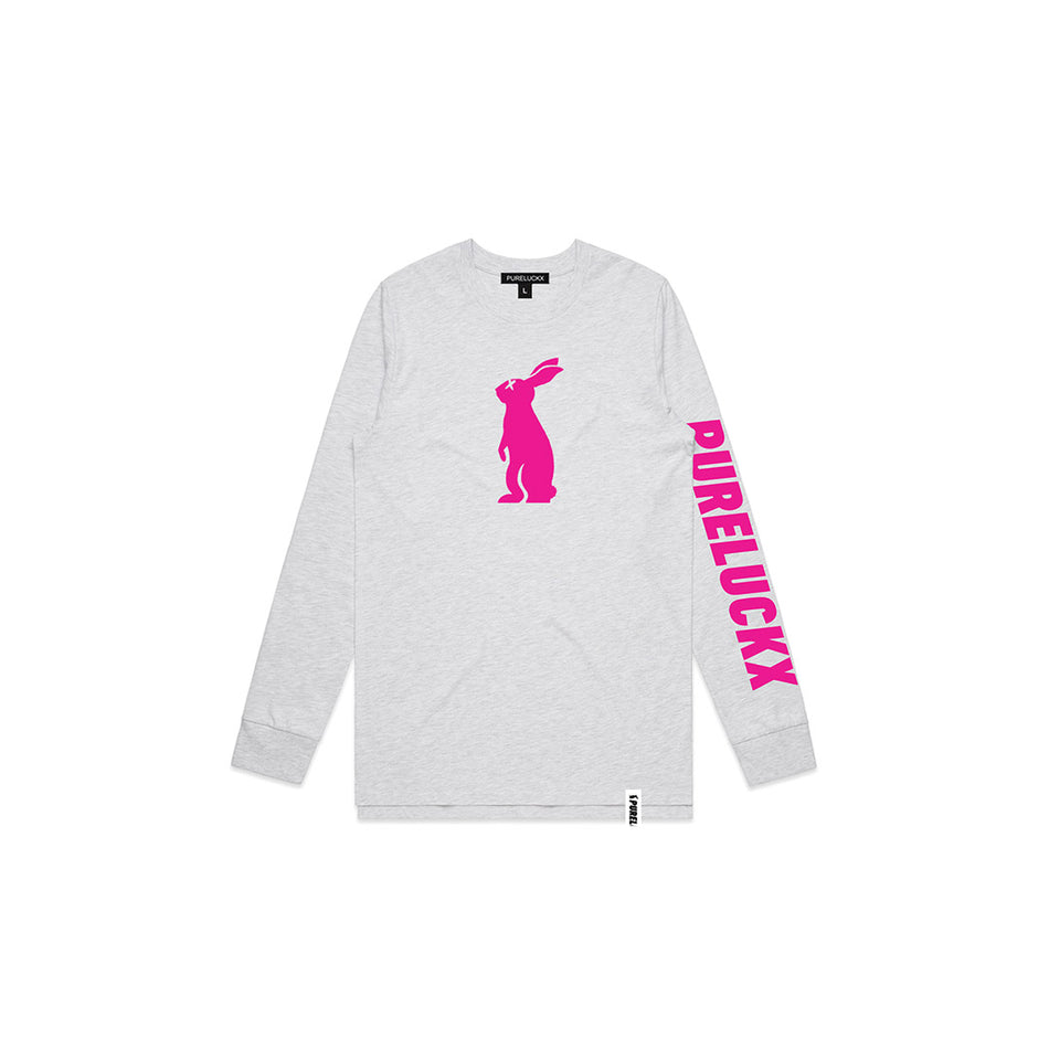 PURELUCKX EASTER BUNNY LONG SLEEVE [GREY]