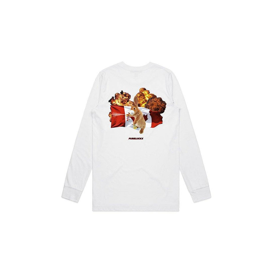CBCP LONG SLEEVE [WHITE] - PURELUCKX Shop