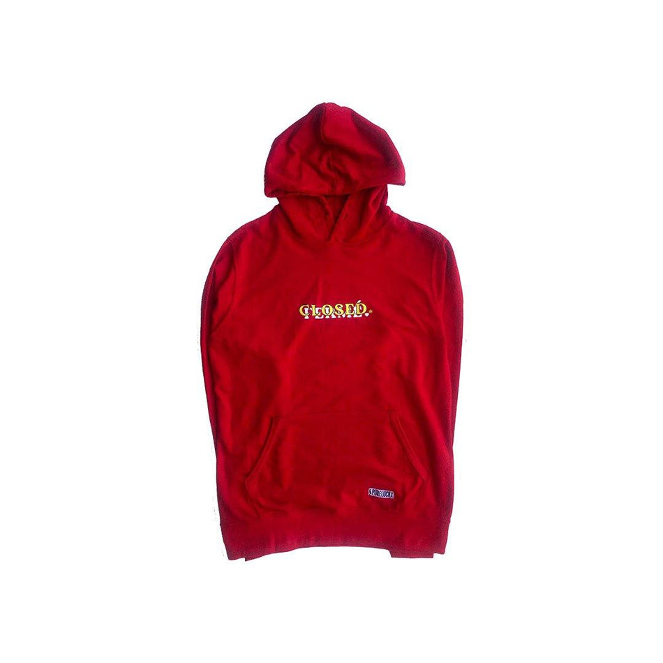 CLOSED/FERME HOODIE [RED] - PURELUCKX Shop