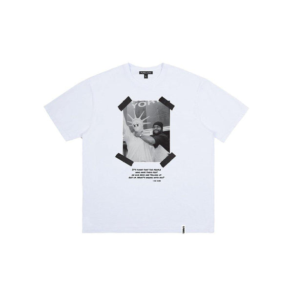WHAT'S WRONG WITH YOU?! TEE [WHITE]
