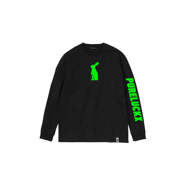 PURELUCKX BUNNY LONG SLEEVE [BLACK]