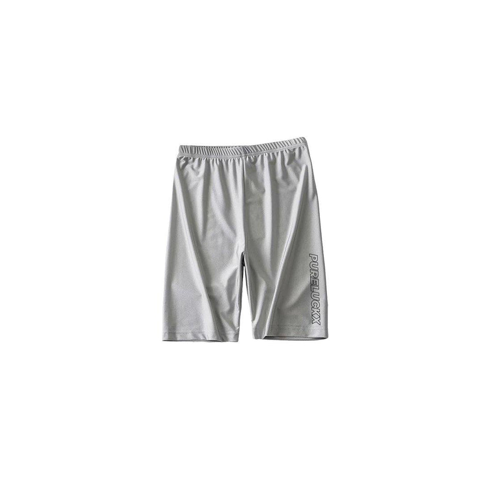 BIKER SHORTS [GREY] - PURELUCKX Shop