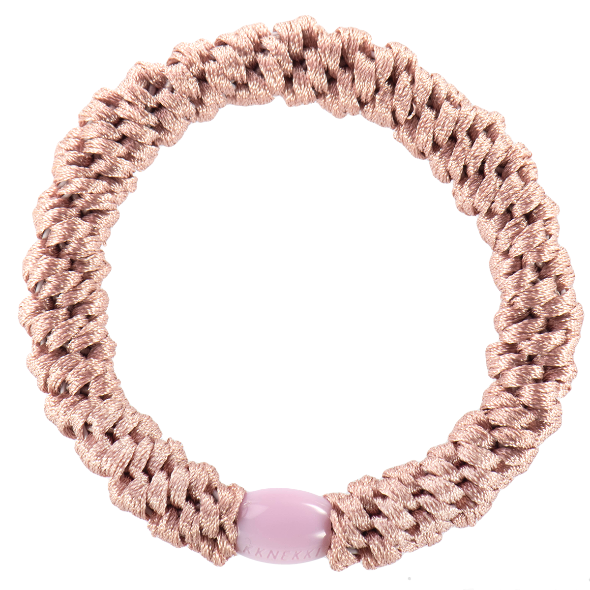 Bon Dep Kknekki Dusty Rose Hairtie - Scandi Minimal