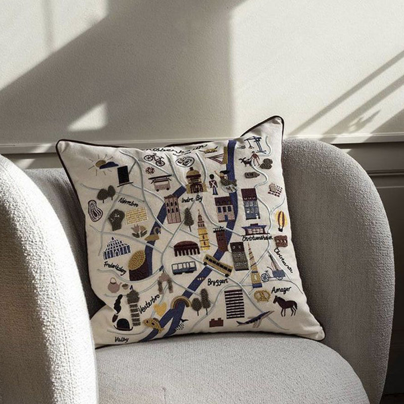 Ferm Living Copenhagen Cushion - Scandi Minimal