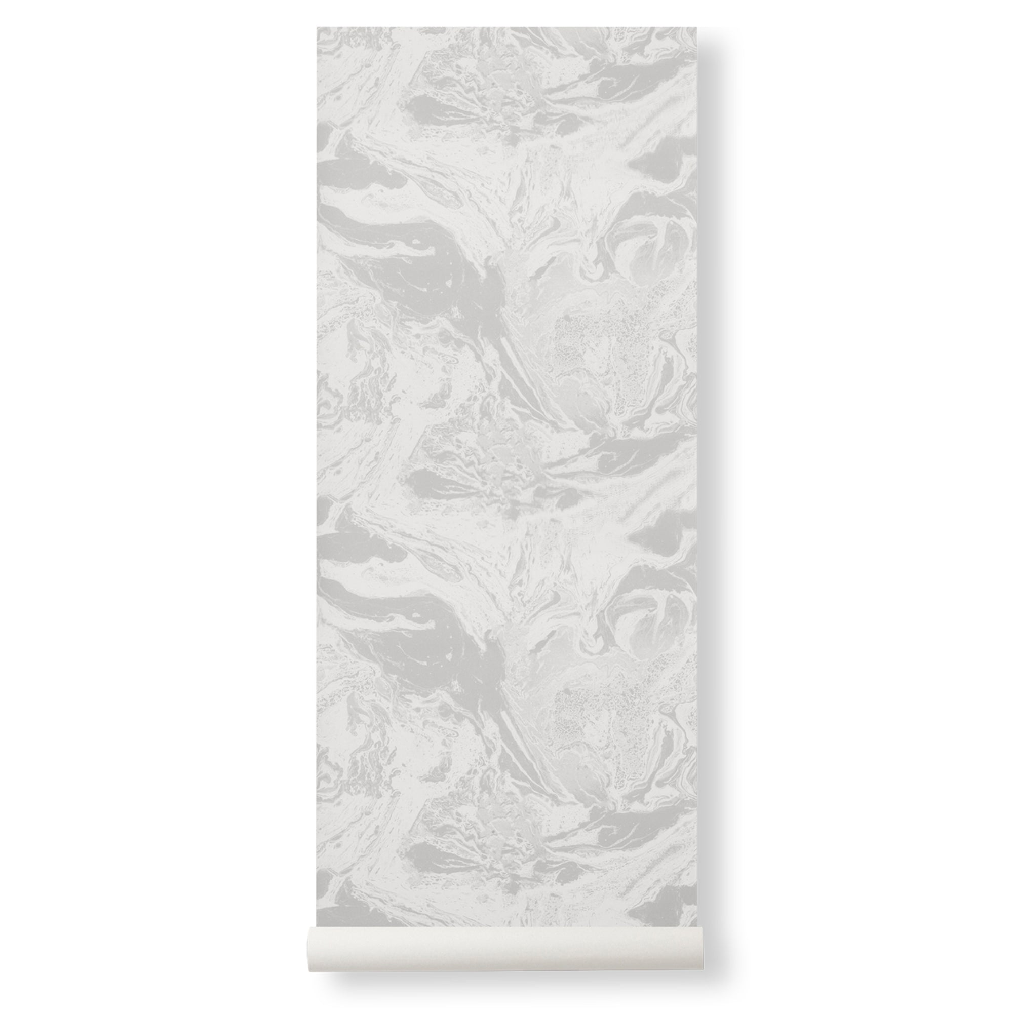 Ferm Living Marbling Wallpaper In Beige - Scandi Minimal