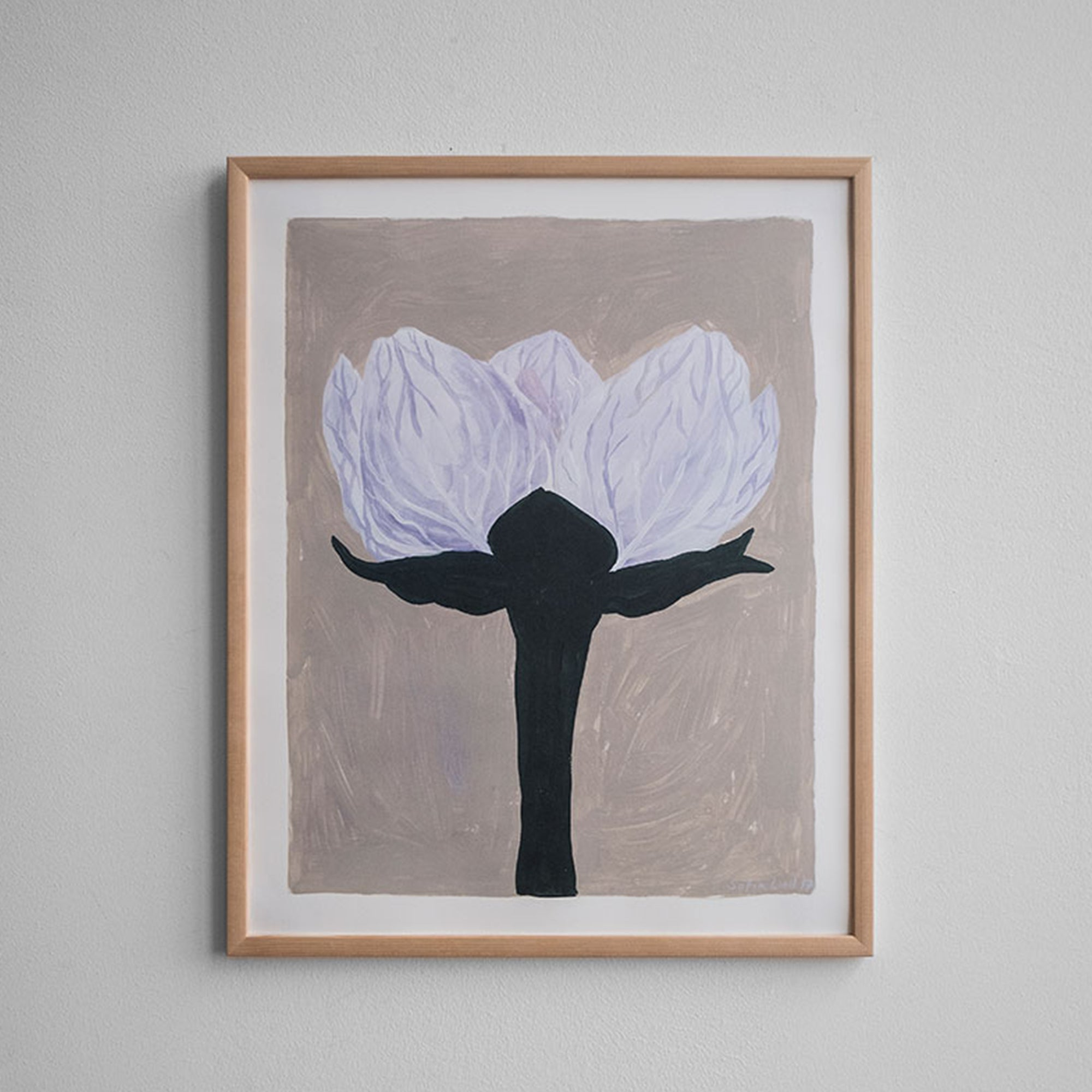 Fine Little Day Slatterblomma Poster - Scandi Minimal