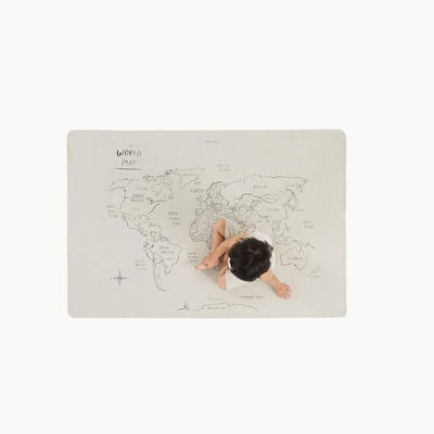 Gathre Mini World Map - Scandi Minimal