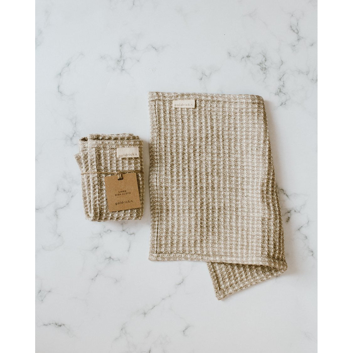 Goldrick Linen Dish Cloth | 100% Linen - Scandi Minimal