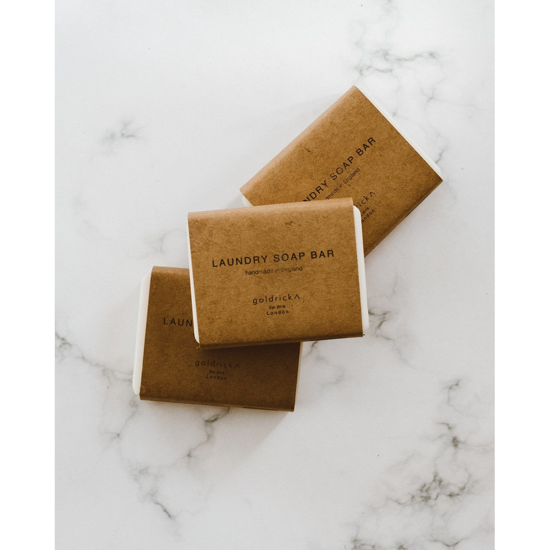 Goldrick Laundry Soap Bar - Scandi Minimal