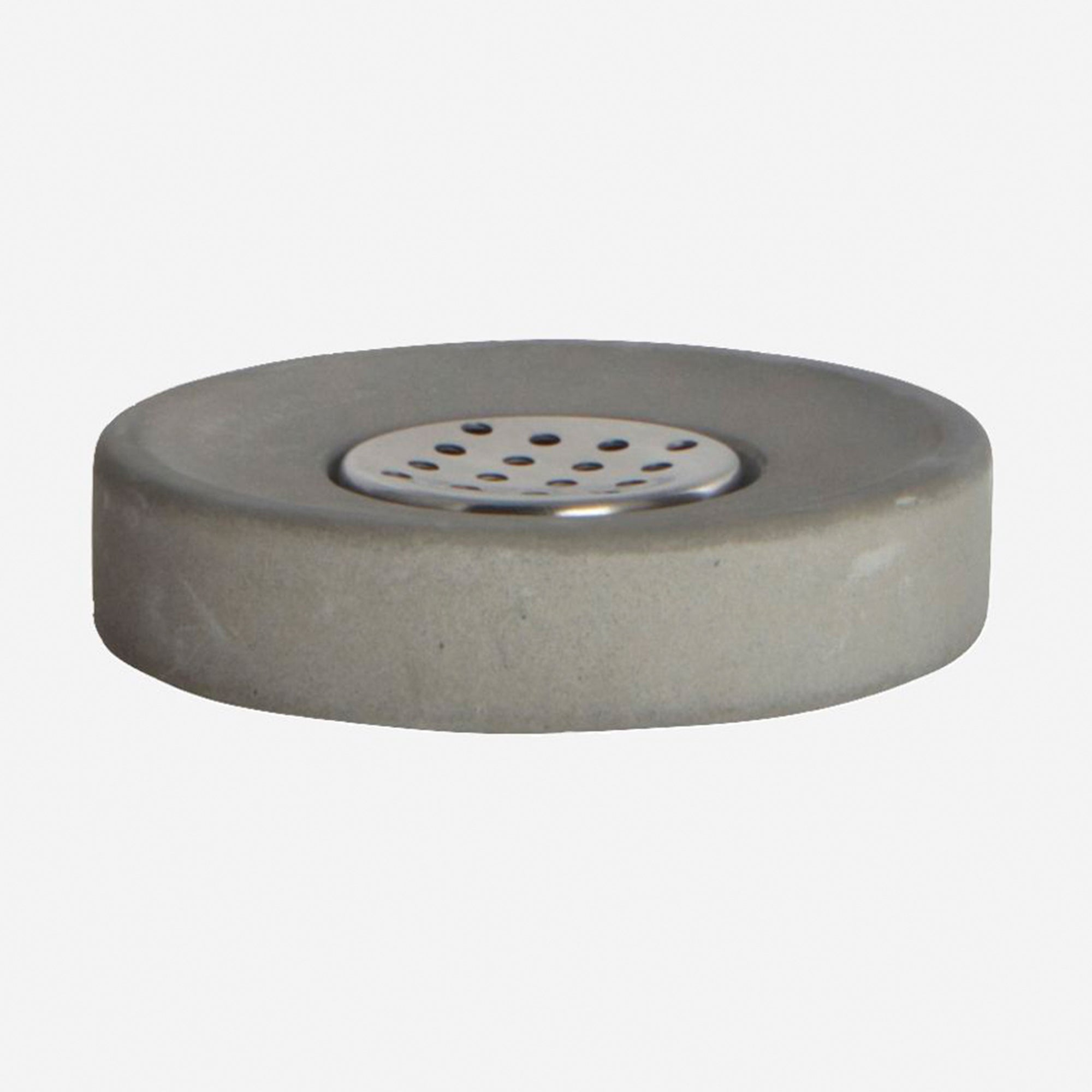 House Doctor Soap Dish Cement - Scandi Minimal
