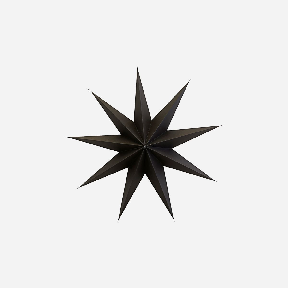 House Doctor Star, 9 Point, Brown Large - Scandi Minimal