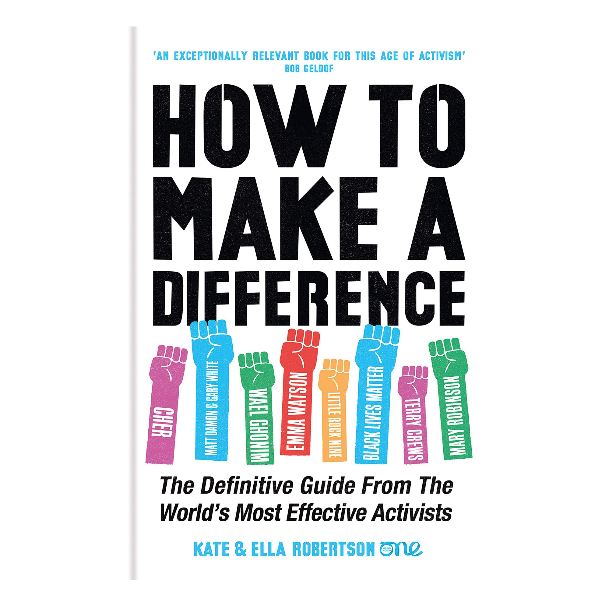 How to Make a Difference by Kate and Ella Robertson - Scandi Minimal