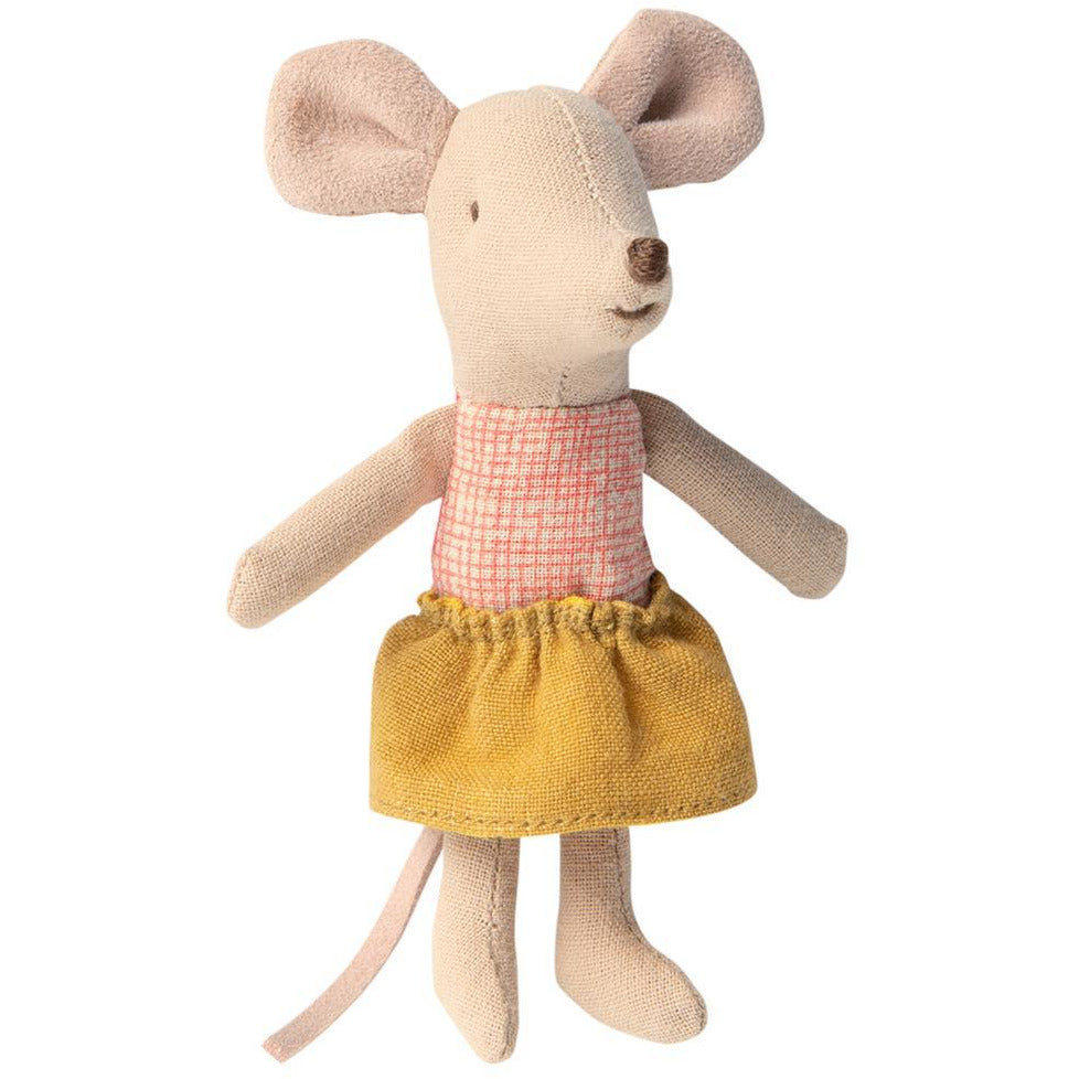 Maileg Little Sister Mouse In Matchbox - Scandi Minimal